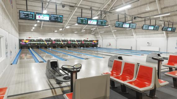 Bowlingcentret i Fredericia Idrætscenter, 10 bowlingbaner