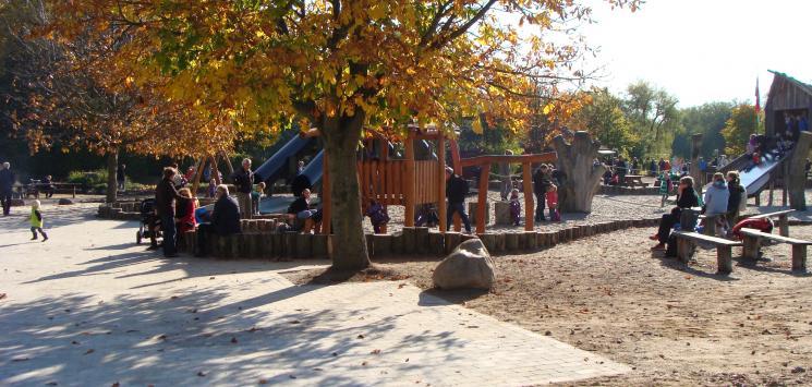 Efterår i Legeparken