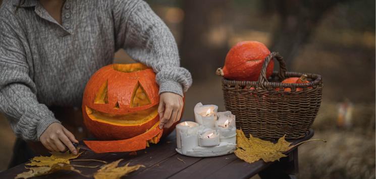 Halloween i Madsby Legepark